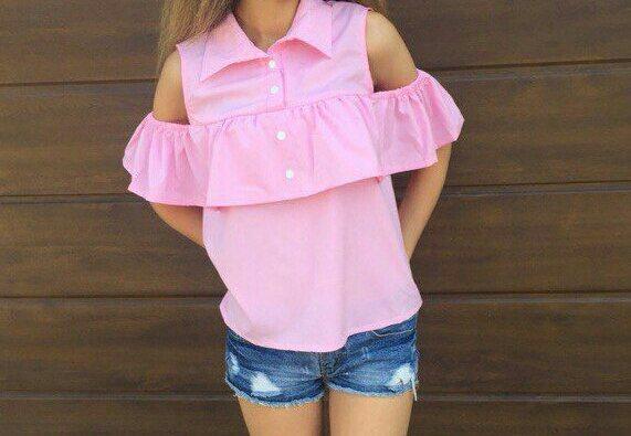 Рубашка коттоновая женская , фото 1