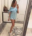 Женская модная хлопковая блуза с прошвой (6 цветов), фото 9