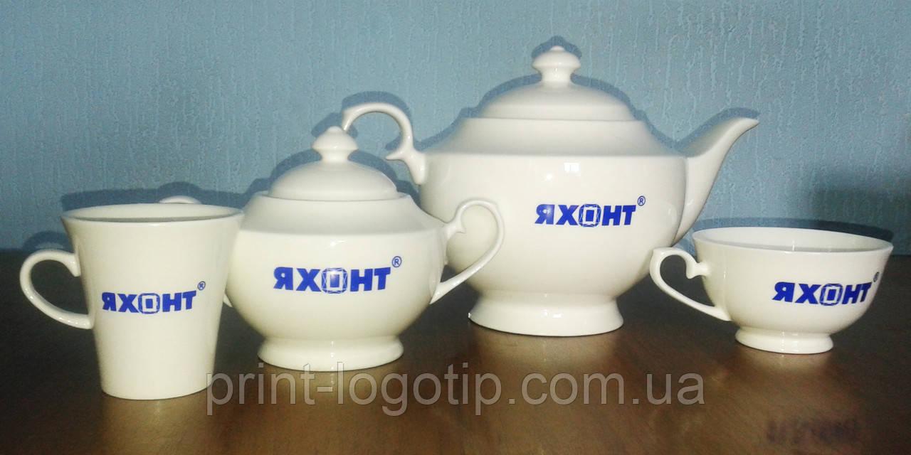 Кружки с рекламой, чашки с логотипом изготовление на заказ