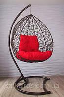 Подвесное кресло качеля кокон.