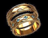 Обручальное кольцо 20006