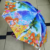 Зонт трость для девочки Винкс
