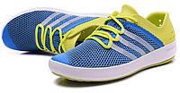 Летние кроссовки  Adidas ClimaCool blue