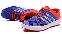 Летние кроссовки  Adidas ClimaCool blue-orange