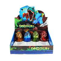 Яйцо 8566-2 (288шт) 11см, динозавр (складной), 12шт (4вида) в дисплее, 30,5-23,5-12см