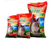 Комбікорм для молодняка кролів до 150 днів (з трав`яною мукою)(25 кг)