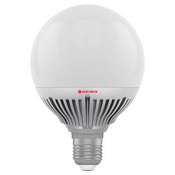 LED лампа G-95 Electrum глобус LG-30 12W(1050Lm) E27 2700K E27  алюм. корп.