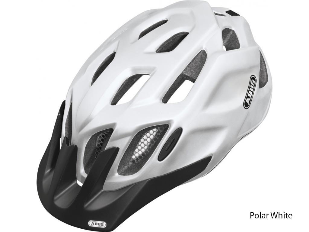 Велошлем ABUS MOUNTK Polar White (L)