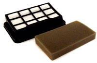 Набор фильтров HEPA (фильтр мотора и поролоновый фильтр) для пылесоса Gorenje 253256, фото 1
