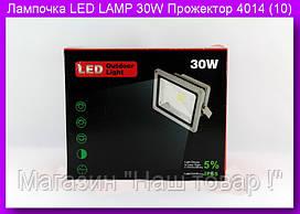Лампочка LED LAMP 30W Прожектор 4014 (10).Светодиодная лампа.