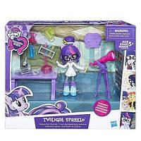 Equestria Girls Мини игровой набор мини-кукол, в ассорт.