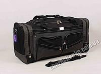 Дорожная сумка Dingda 2020 Черный с серым