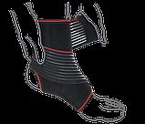 Бандаж на гомілковостопний суглоб з додатковою фіксацією (арт. R7202), фото 2