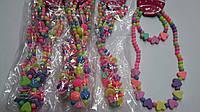 Детский наборы бусы + браслет
