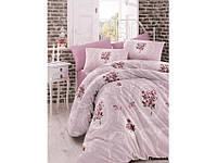 Хлопковое постельное белье ЕВРО Arya Majesty лиловый AR31