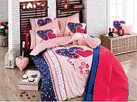 Хлопковое постельное белье ЕВРО Arya Lovely AR31