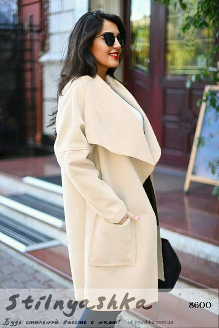 Женские пальто больших размеров 48+