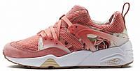 Женские кроссовки Puma x Careaux x Blaze Of Glory (Пума) розовые