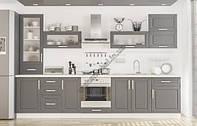 Кухня Мебель-Сервис Гамма с матовыми фасадами