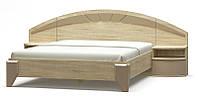 Двуспальная кровать Аляска ламель 160 с ортопедическим основанием.
