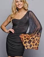 Нарядное женское платье (Богиня леопард sk)