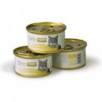 Консервы Brit Care Breast & Cheese для кошек с куриной грудкой и сыром, 80 г