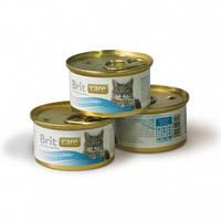 Консервы Brit Care Tuna & Turkey для кошек с тунцом и индейкой, 80 г
