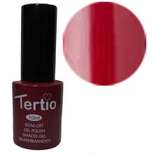 TERTIO гель - лак № 007 (сливовый с микроблеском ) 10 мл
