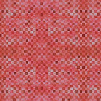 """Ткань для пэчворка и рукоделия американский хлопок """"Мелкие квадраты красные"""" - 22*55 см"""