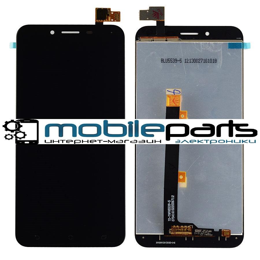 Оригинальный Дисплей (Модуль) + Сенсор (Тачскрин) для Asus Zenfone 3 Max | ZC553KL (Черный)