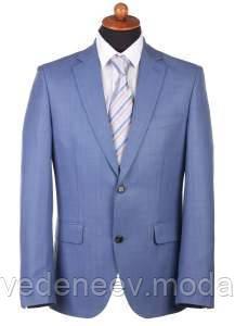 Мужской костюм светло-голубого цвета