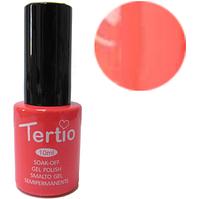 TERTIO гель - лак № 017 (неоновый коралл) 10 мл