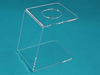 Подставка под мороженное 1 рожок прозрачная, фото 1