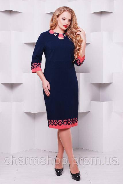 c16664ede4ca Женские осенние платья большого размера -