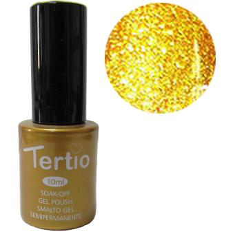 TERTIO гель - лак № 021 (золотистый с микроблеском) 10 мл