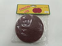 Круг(липучка) наждачный самоклеющийся 125мм Р40 упаковка10шт (UNION VIS)