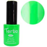 TERTIO гель - лак № 022 (неоновый зеленый) 10 мл