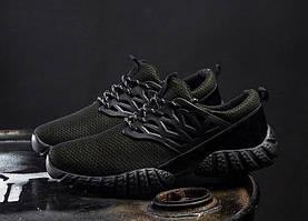 Дизайнерские мужские кроссовки black+yellow