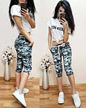 Женские модные камуфляжные капри / бриджи (3 цвета), фото 5