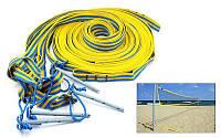 Разметка площадки пляжного волейбола Транзит UR SO-5277 (р-р 8х16м, шир.ленты-2,5см, 4шт мет.креп.)