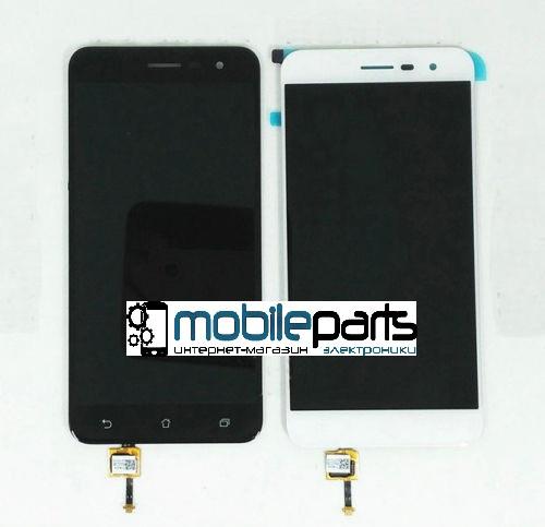 Оригинальный Дисплей (Модуль) + Сенсор (Тачскрин) для Asus Zenfone 3   ZE520KL (Белый)