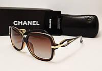 Женские солнцезащитные очки Chanel 1764 (коричневый цвет)