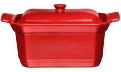 Форма  с крышкой для запекания Emile Henry 20*15*9 см красная 345891