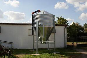 Бункер для кормов 5 т, 7.7 м3