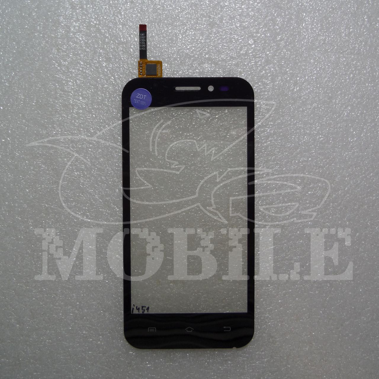Сенсор Nomi i451 Twist black (#213) - Era-mobile в Харьковской области