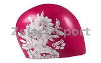 Шапочка для плавания AR-91440-16 SIRENE UNISEX (силикон, розовый)