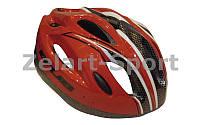 Велошлем кросс-кантри с механизмом регулировки FORMAT CUBuu (EPS,плас, PVC,р-р M-L-55-62,цв.в ассор)