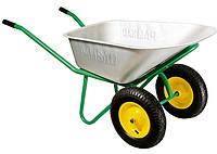 Тачка садово-строительная двухколесная,усиленная,100 л  PALISAD,689238