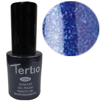 TERTIO гель - лак № 030(ультрамариновый с микроблестками) 10 мл