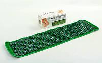 Коврик ортопедический массажный с камнями (Массажная дорожка) WSX-168 (PVC, пластик, р-р 1,42x0,4м)